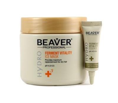 Охлаждающая маска для восстановления волос 500мл + 6шт*10мл