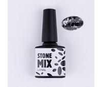 Гель-лак Stone MIX Белый нефрит